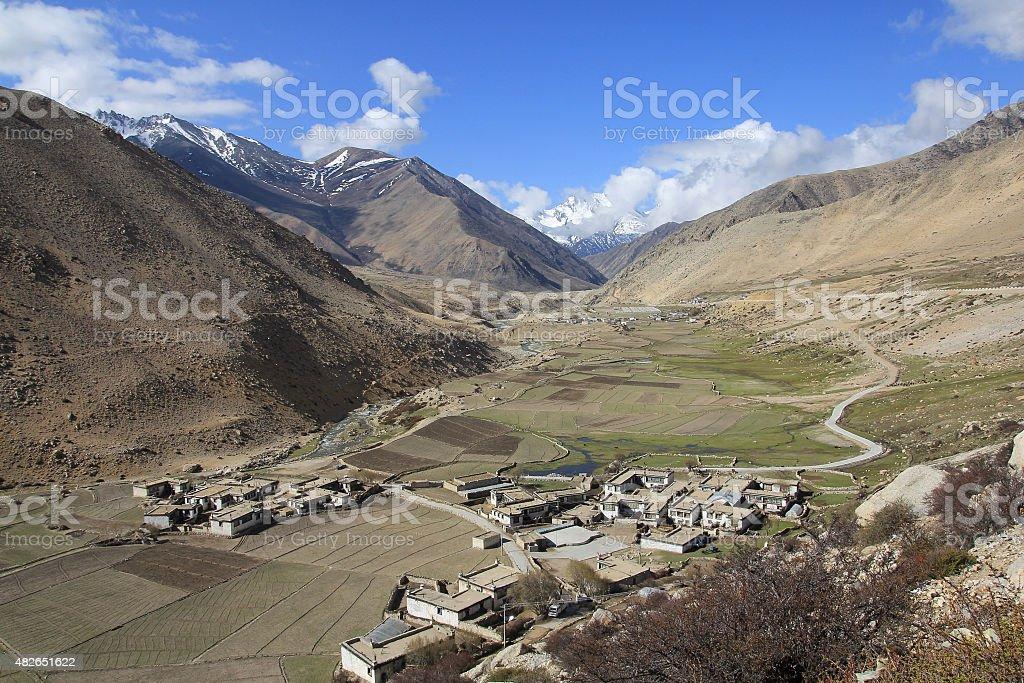 Tibet royalty-free stock photo