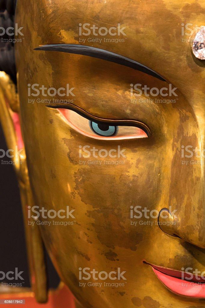 tibetan buddha stock photo