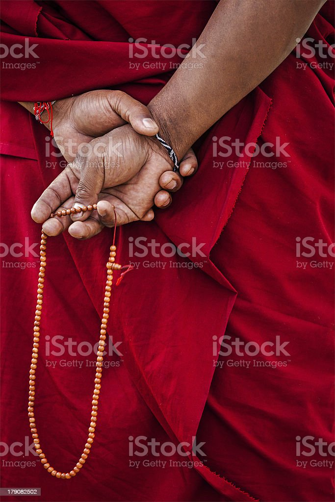 Tibetan Buddhism stock photo