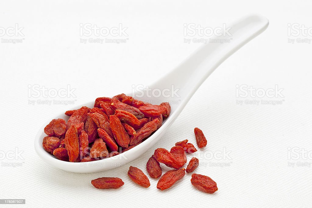Tibetan goji berry stock photo