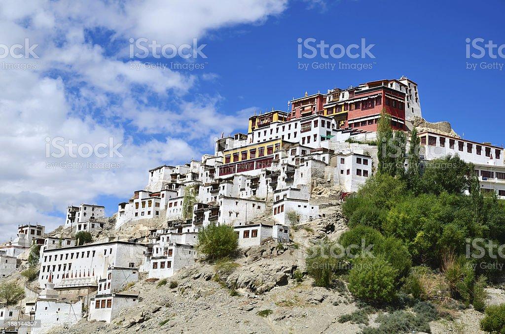 Tibetan Monastery stock photo