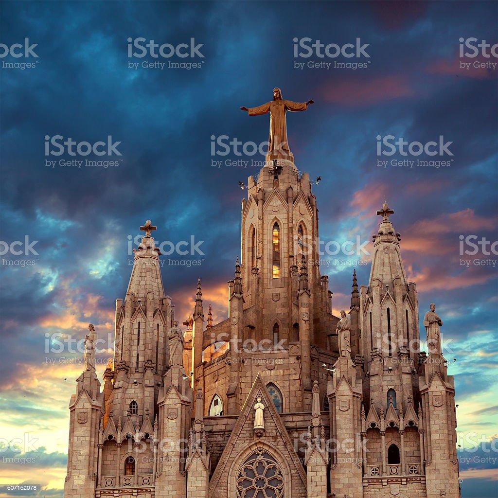Tibidabo. Barcelona. Spain. stock photo