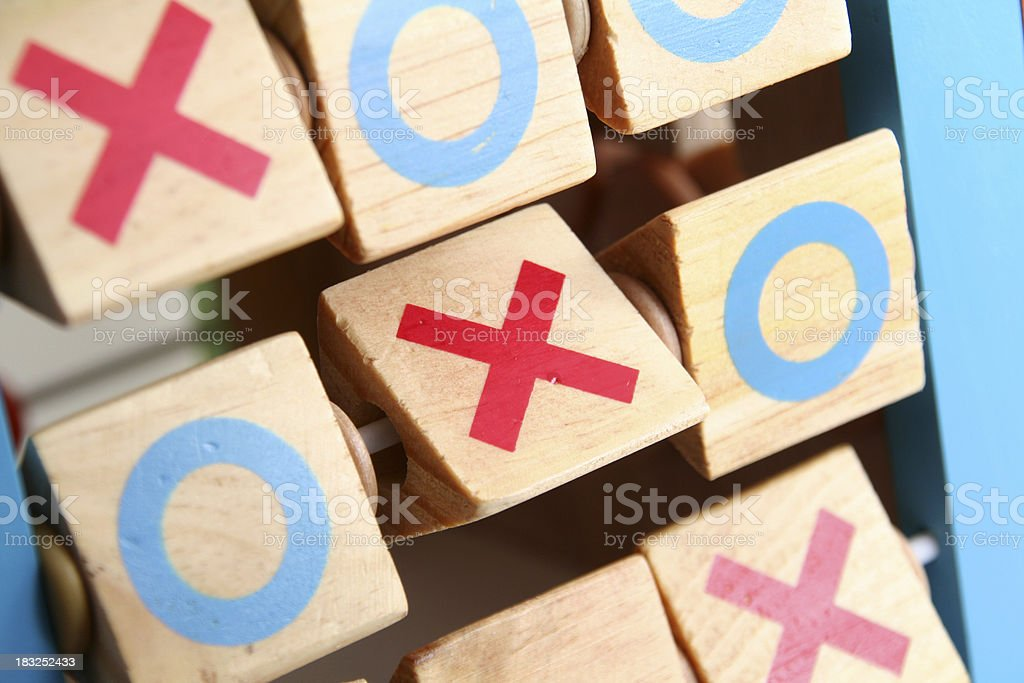 Tic Tac Toe royalty-free stock photo