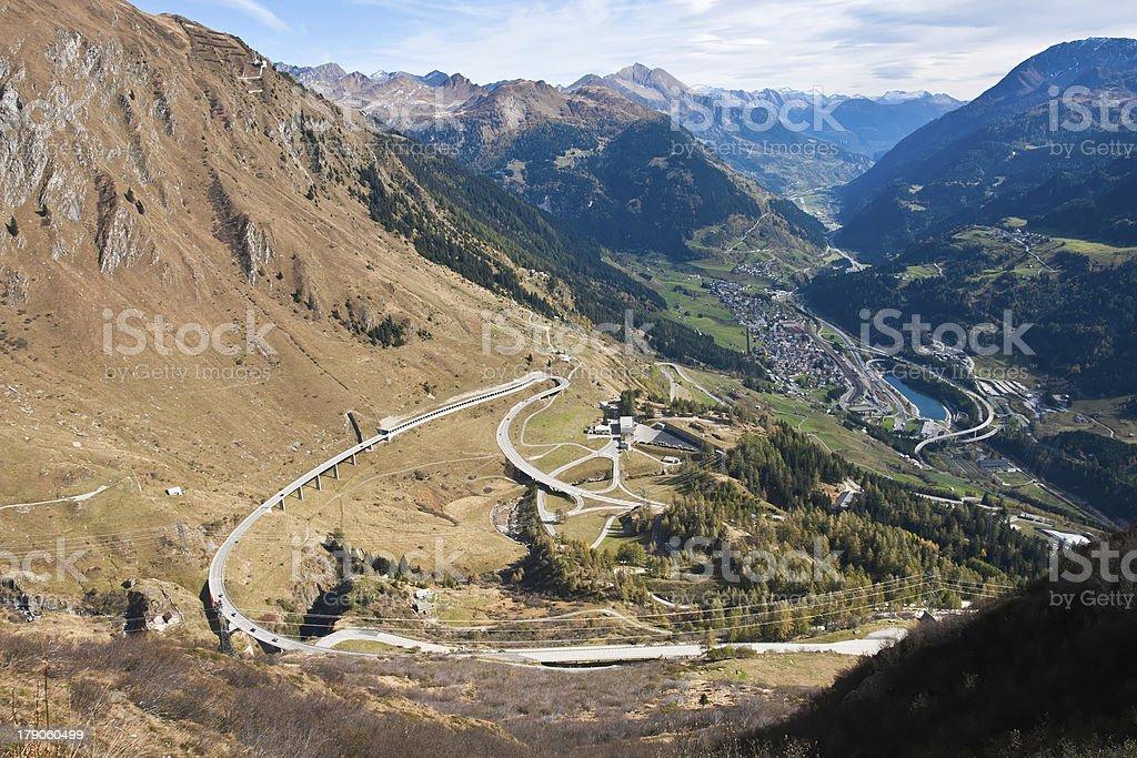 Ticino Panorama royalty-free stock photo