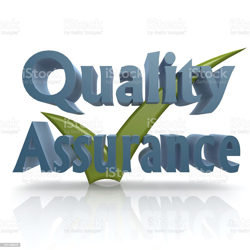 Tick quality assurance royalty-free stock photo