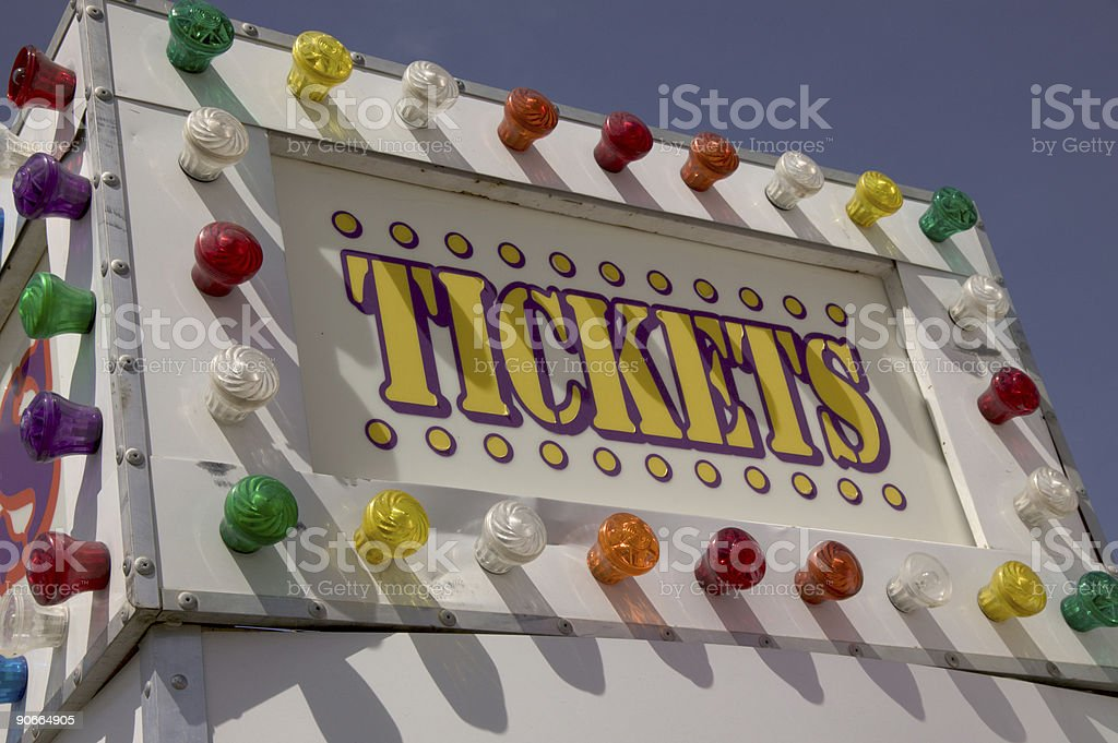 Ticket booth 2 royalty-free stock photo