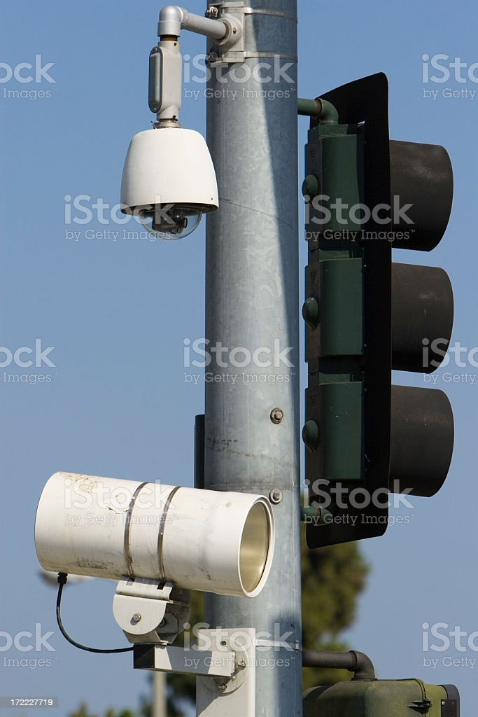 Ticket Cam royalty-free stock photo
