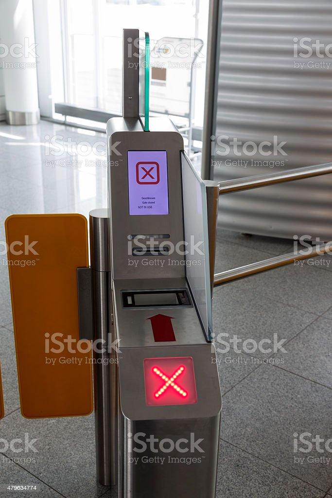 Ticket machine royalty-free stock photo