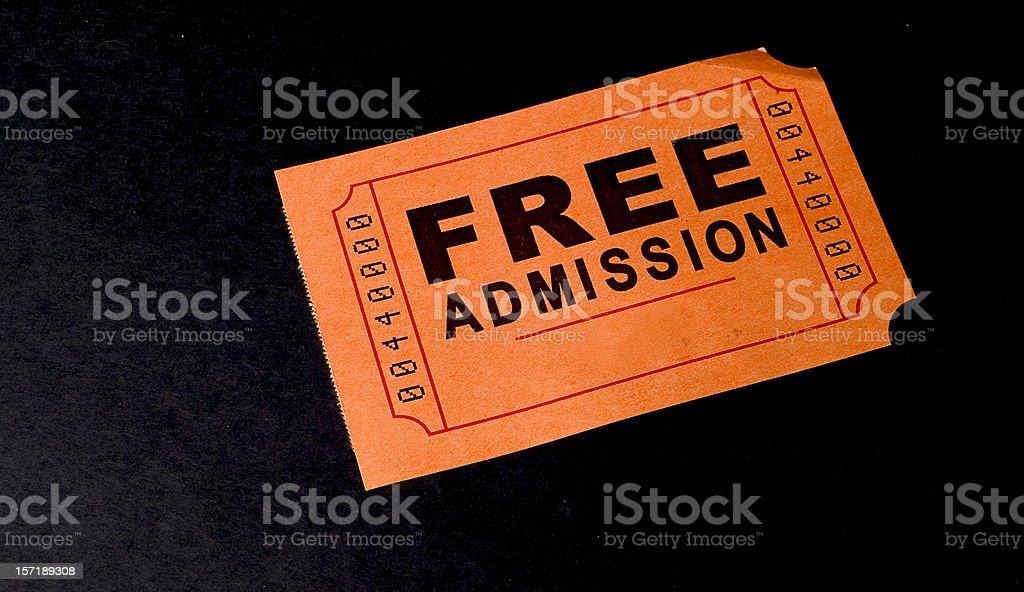 ticket royalty-free stock photo