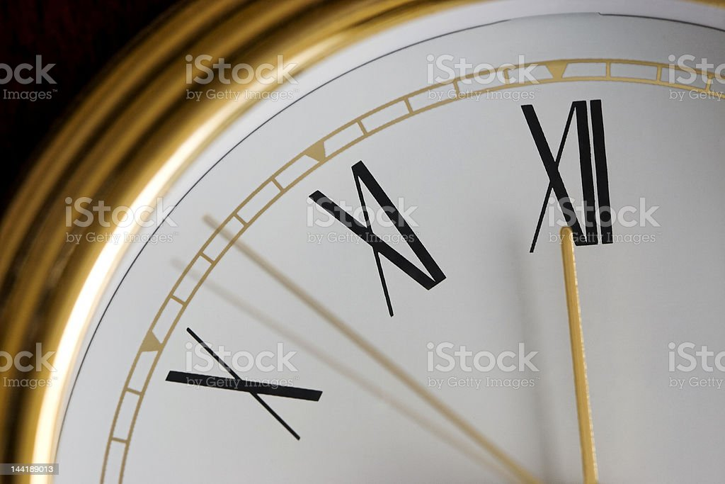 Ticking Timepiece royalty-free stock photo