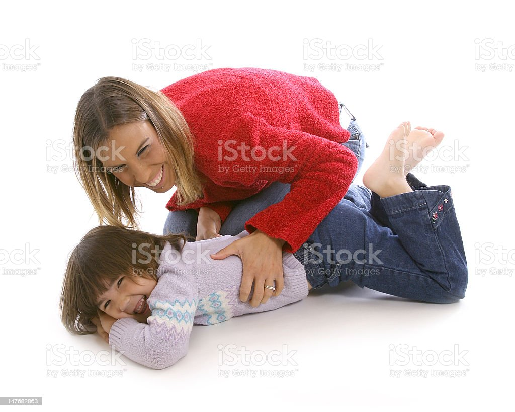 tickle stock photo