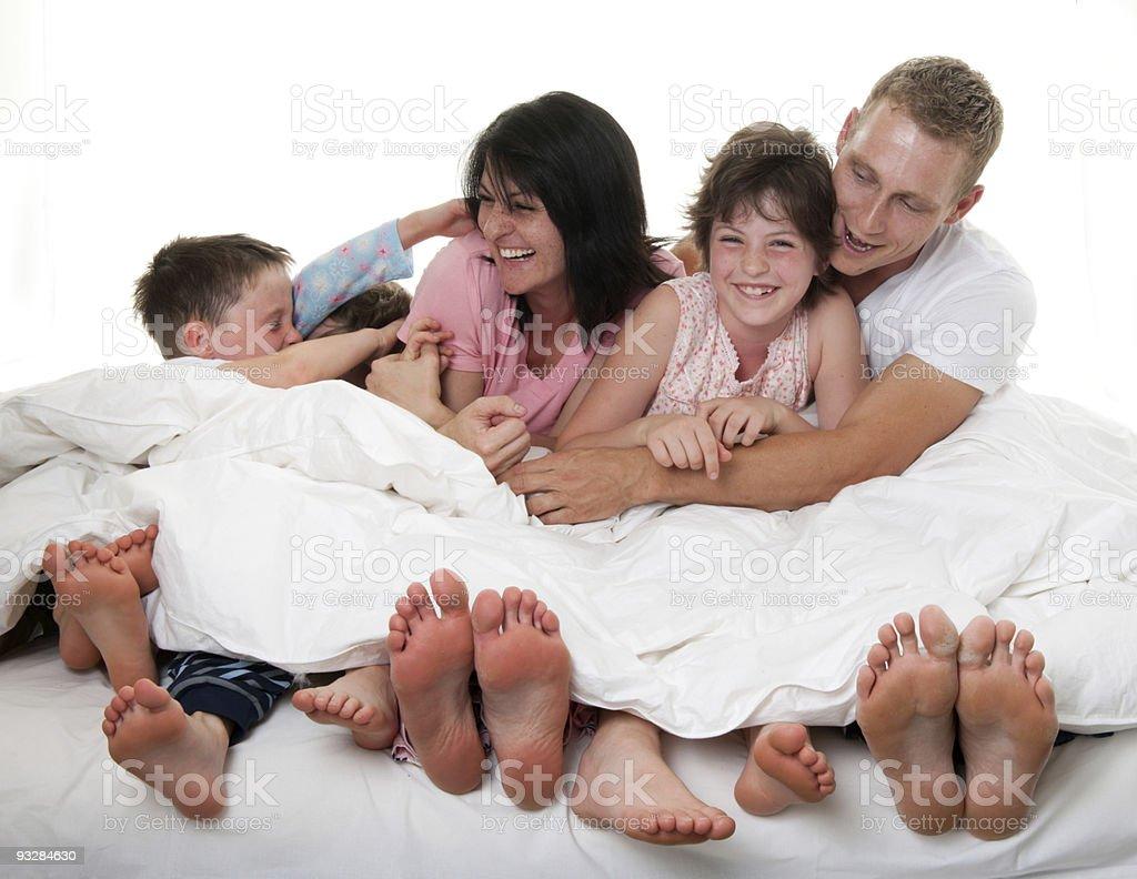 Tickling royalty-free stock photo