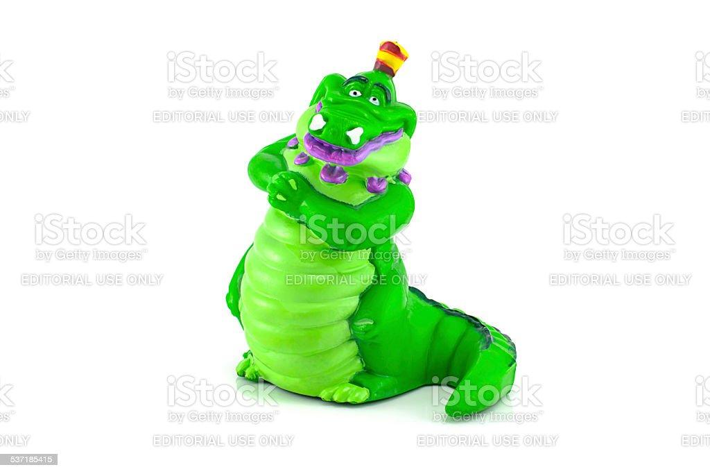 Tick-Tock the Crocodile stock photo