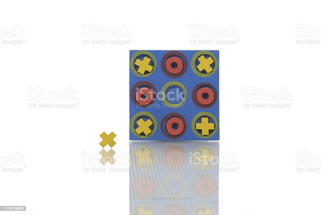 Tic-Tac-Toe royalty-free stock photo