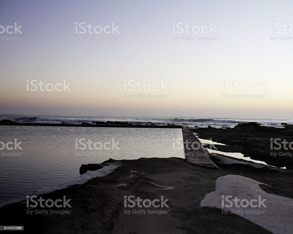 Tidal Pool stock photo