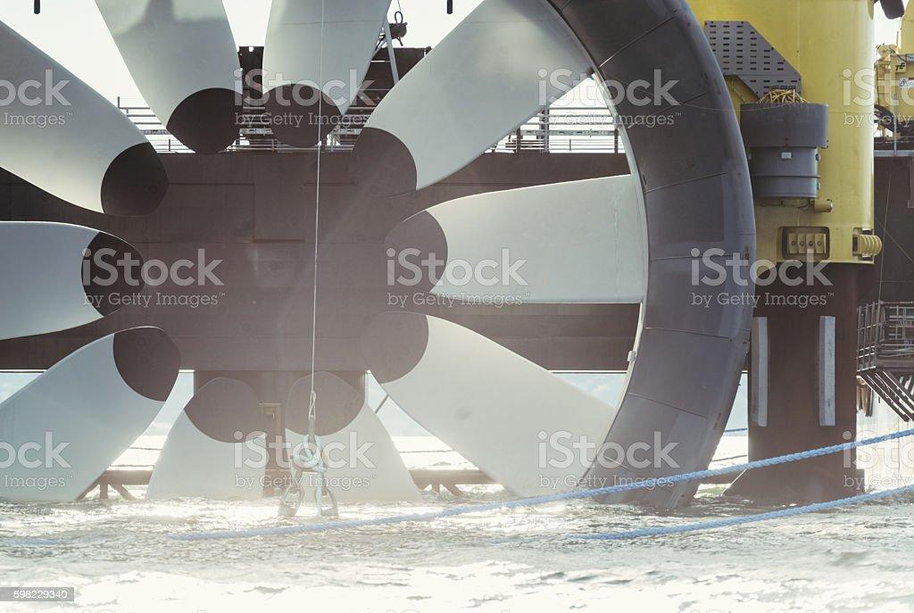 Tidal Power stock photo