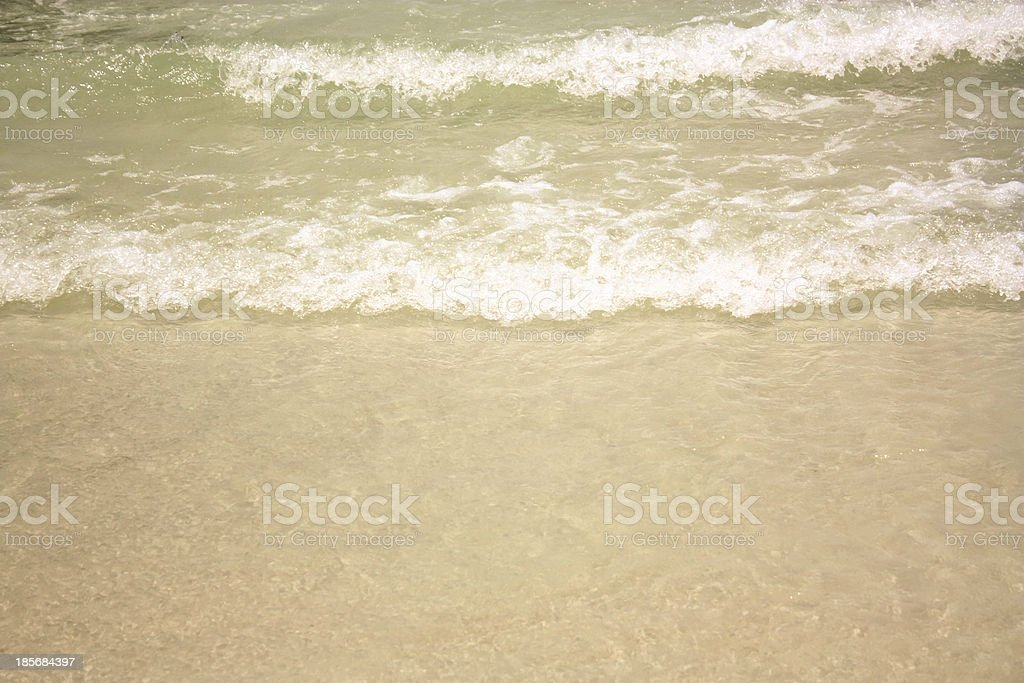 Tidal wave stock photo