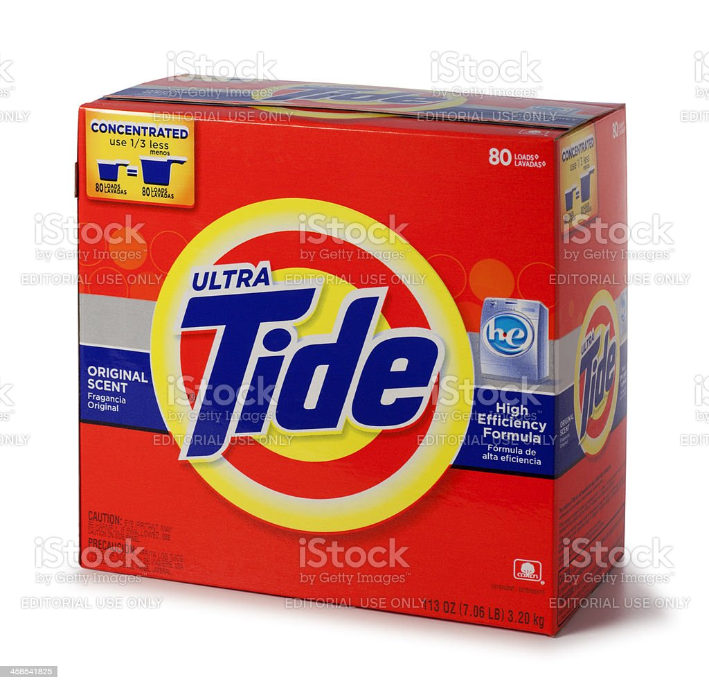 Tide Laundry Detergent royalty-free stock photo