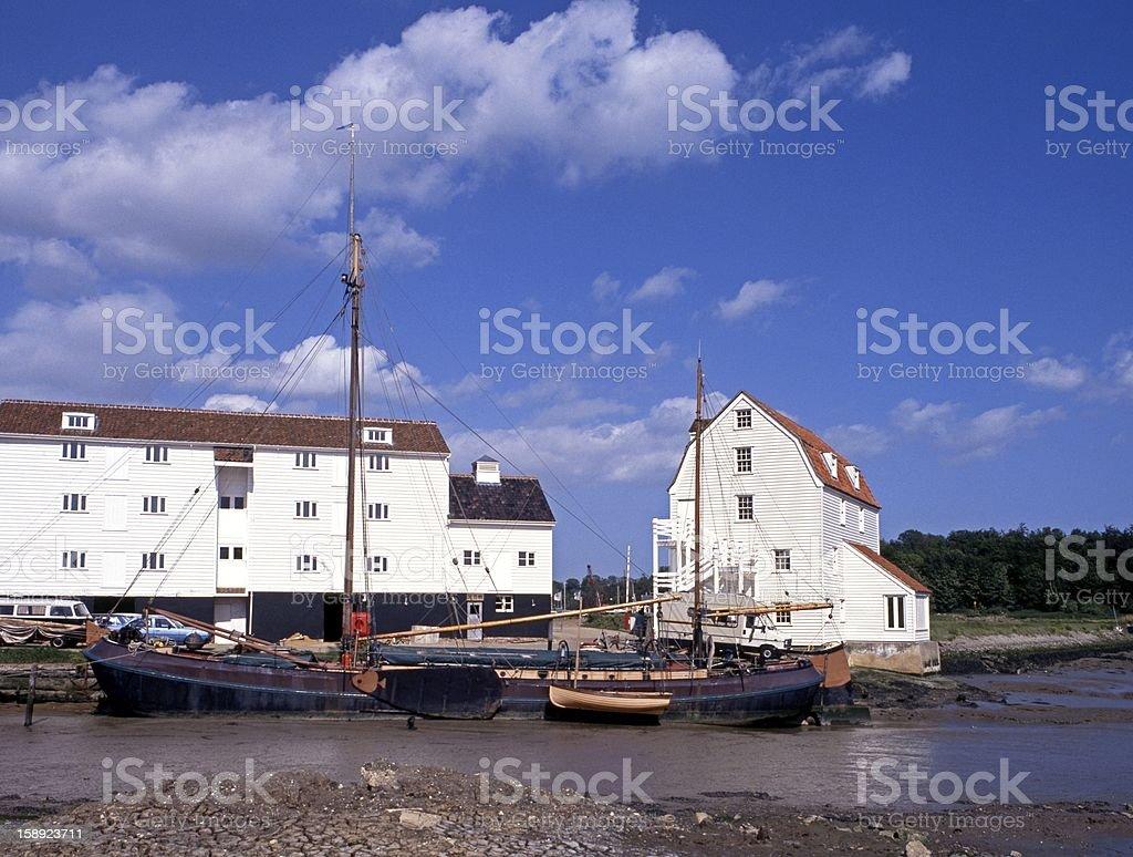 Tide Mill, Woodbridge, Suffolk, UK. royalty-free stock photo