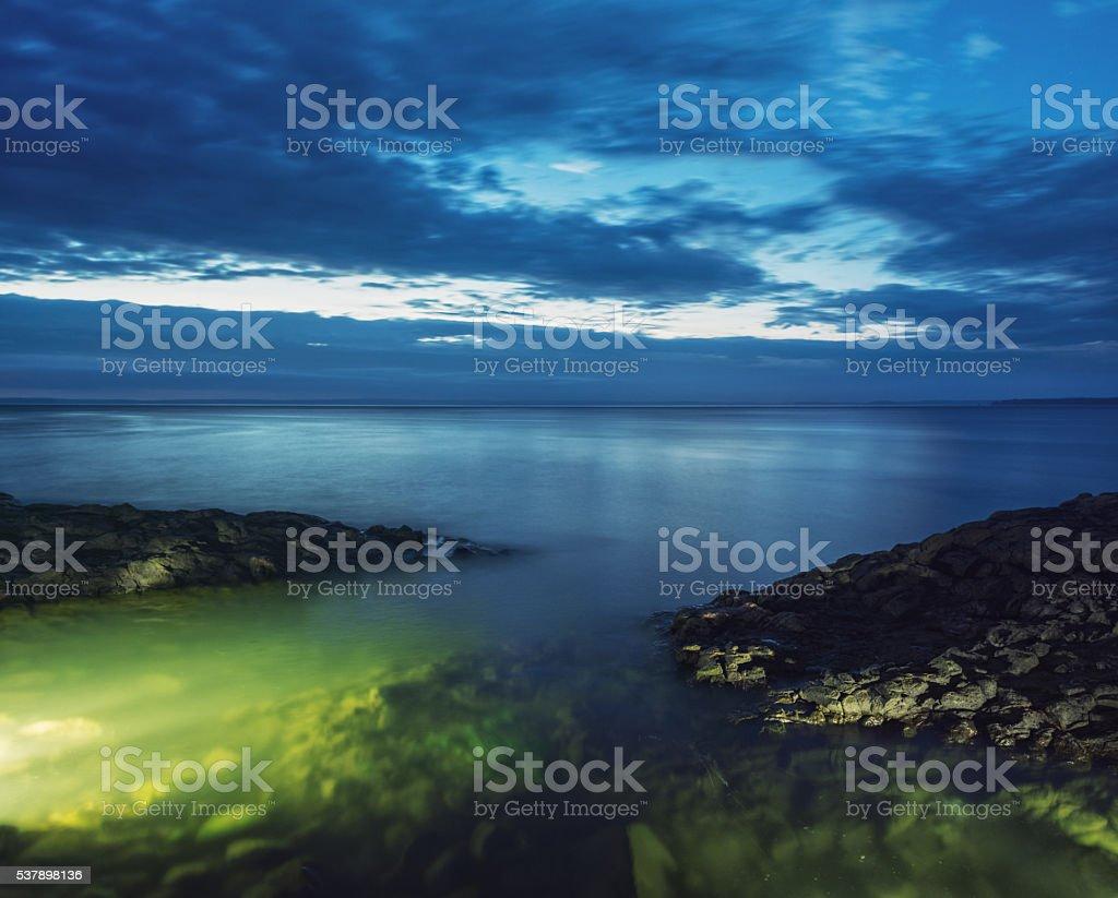 Tide of Light stock photo