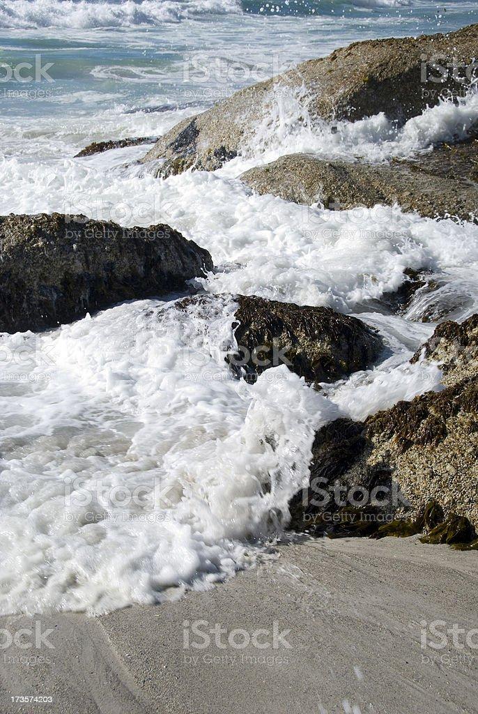 Tide royalty-free stock photo