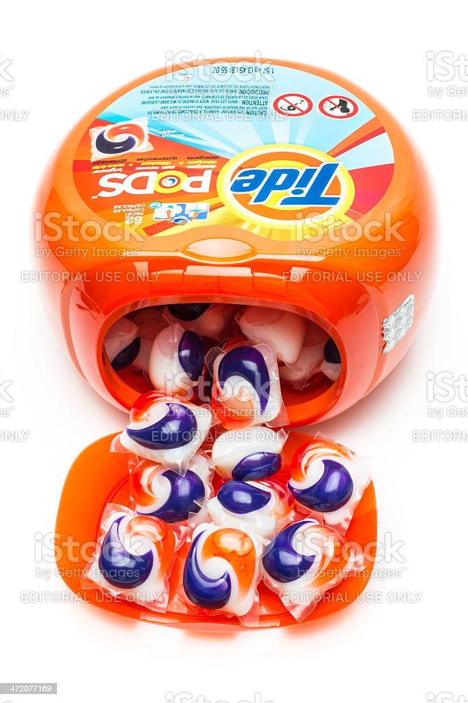 Tide Pods stock photo