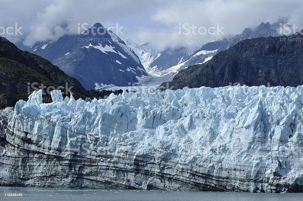 Tidewater Margerie Glacier, Alaska royalty-free stock photo