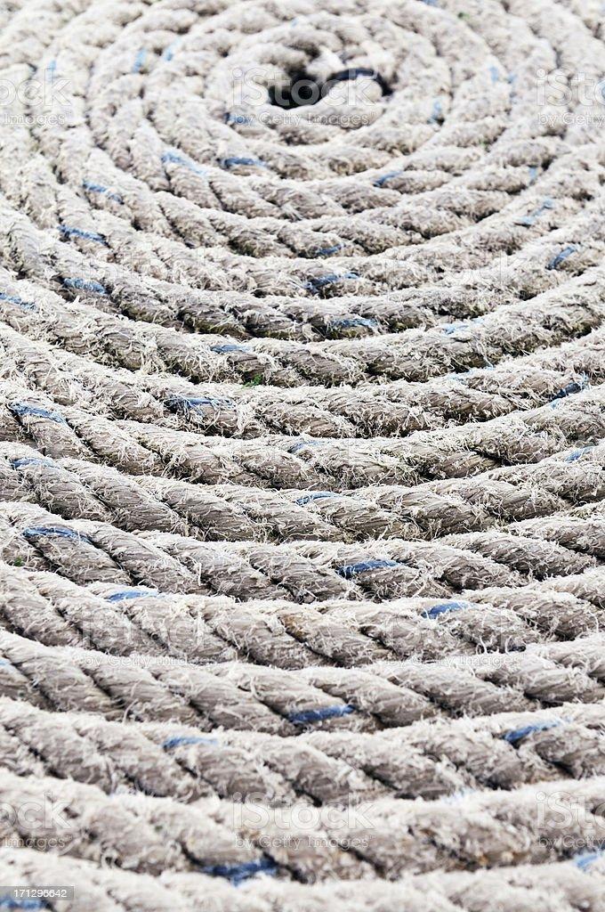 Tidy Rope stock photo