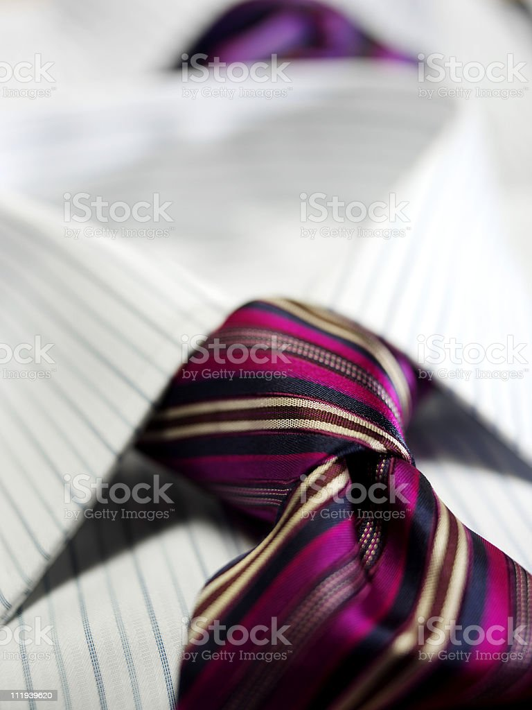 tie and shirt royalty-free stock photo