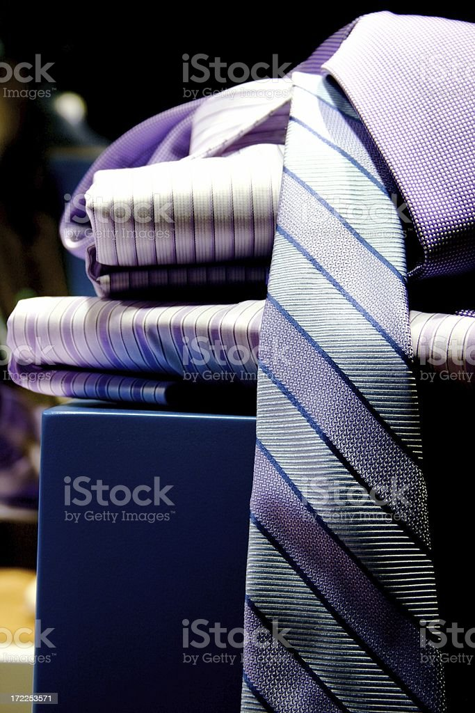 tie and shirts royalty-free stock photo