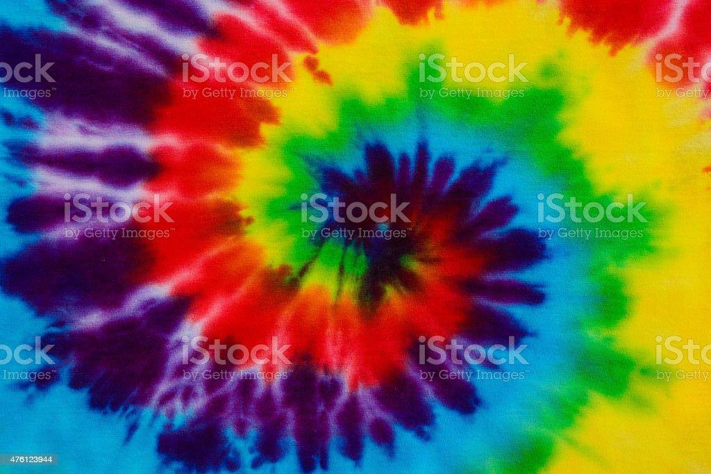 tie dye fabric background stock photo