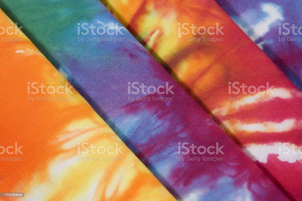 Tie Dye Stacked Diagonal royalty-free stock photo