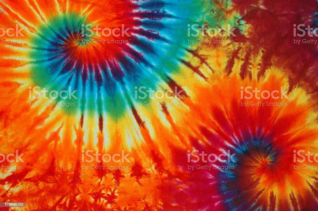 Tie dye swirl background design royalty-free stock photo