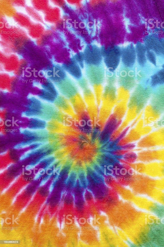 Tie Dyed stock photo