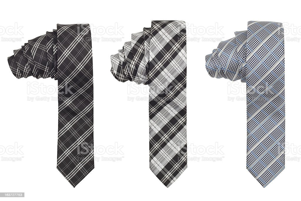 tie isolated royalty-free stock photo