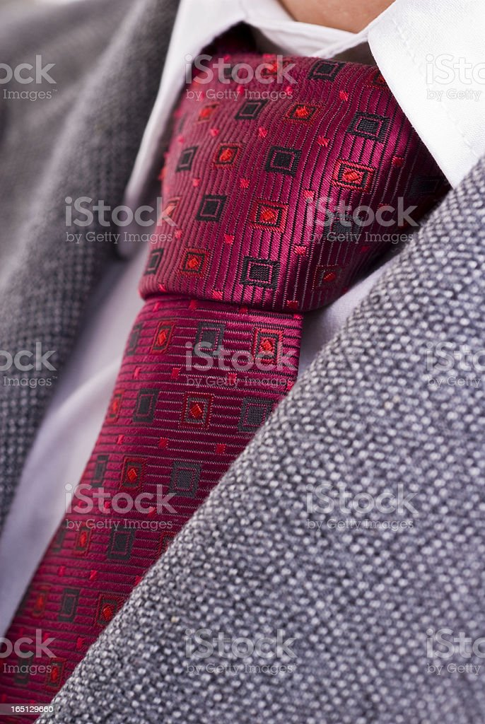 Tie, Shirt and Jacket royalty-free stock photo