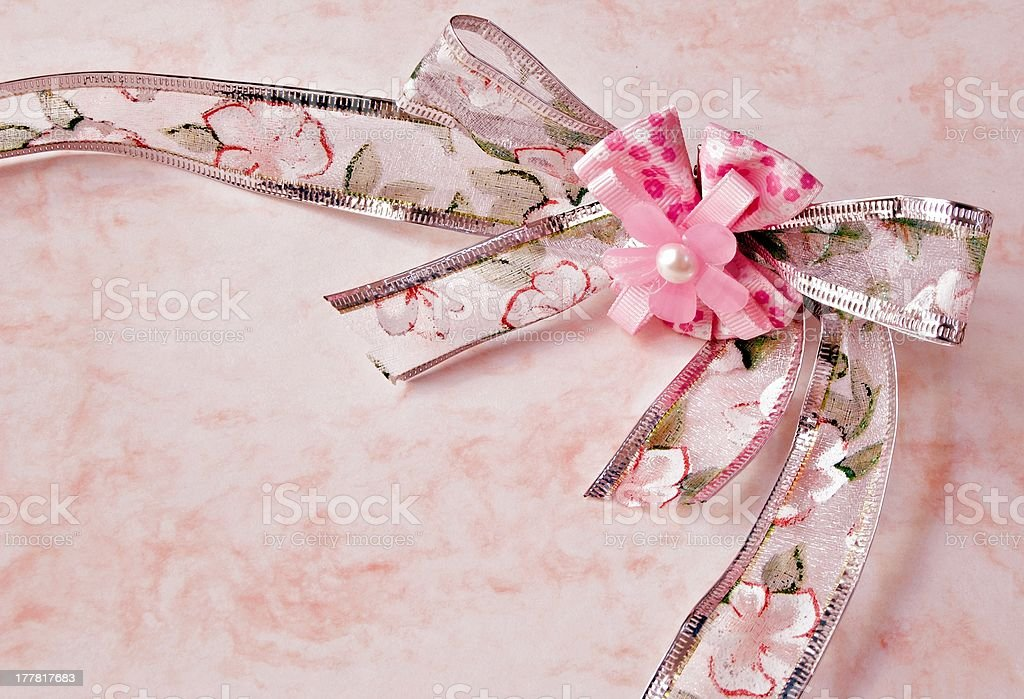 Tie with flower ornaments royalty-free stock photo