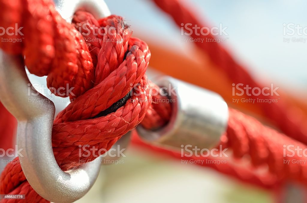 Tied and Twisted stock photo
