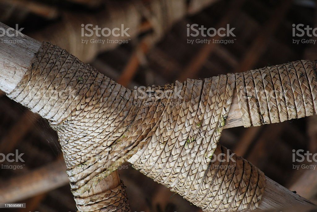 Tied stock photo