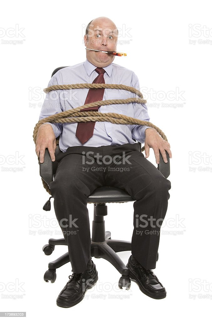 Tied up Business stock photo
