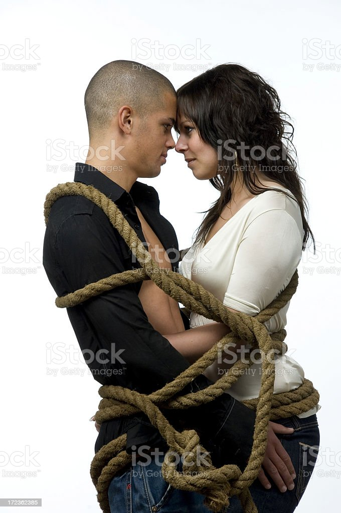 tied up love royalty-free stock photo