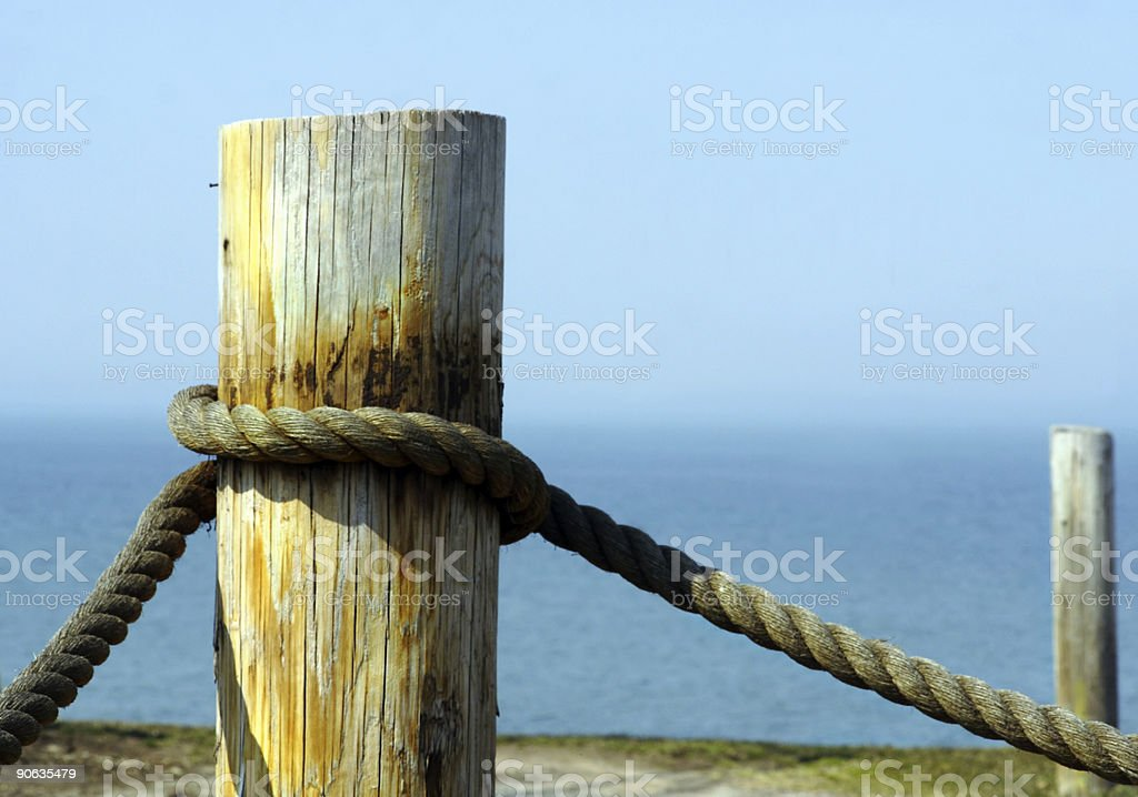Tied Up stock photo