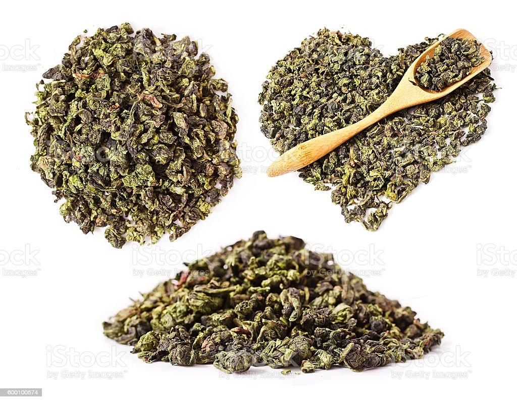 Tieguanyin chinese Oolong tea stock photo