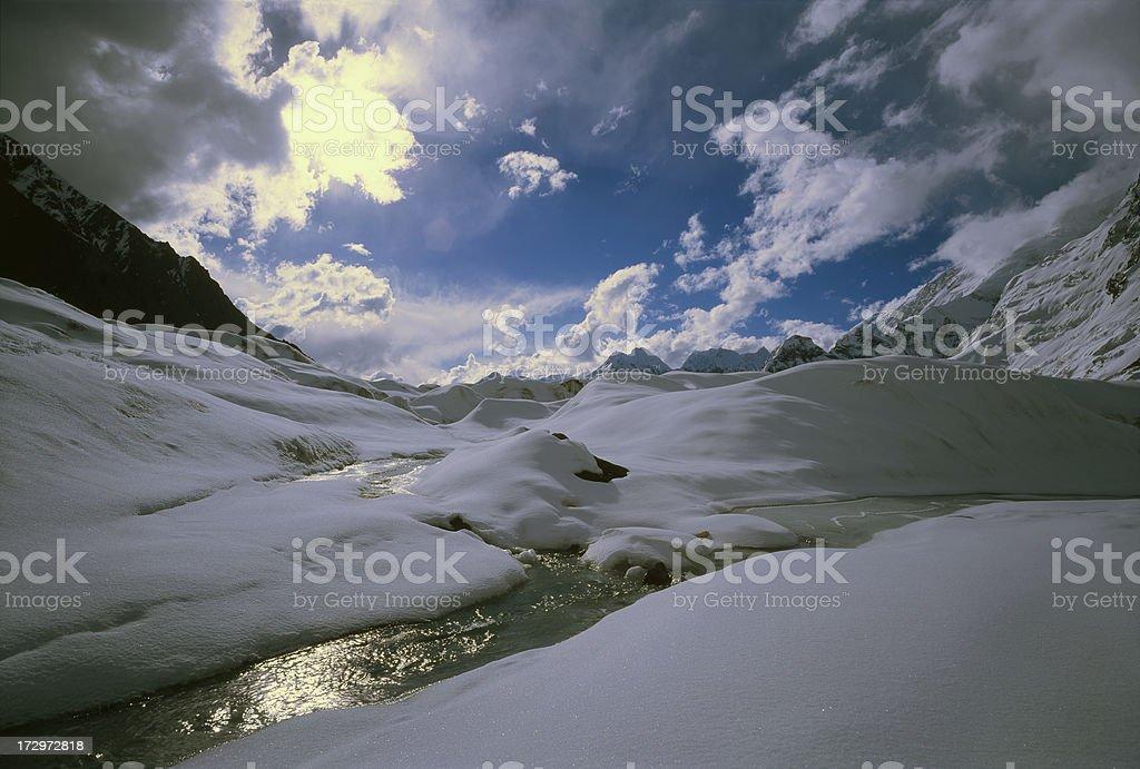 Tien Shan Mountains. Kazakhstan. royalty-free stock photo
