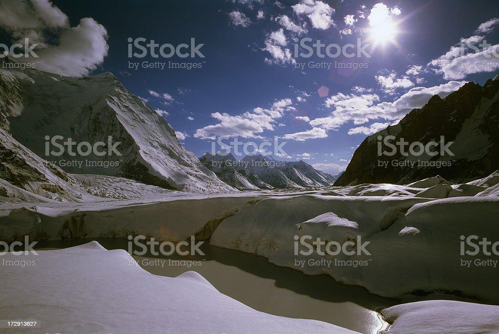 Tien Shan Mountains. Kazakstan. royalty-free stock photo