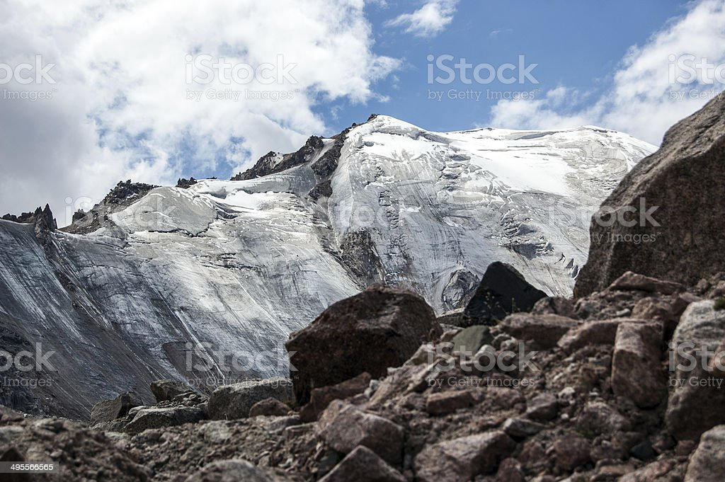 Tien Shan Mountains stock photo