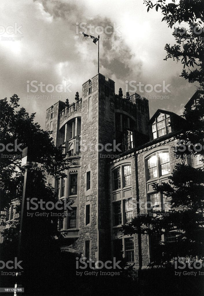 Tier building at the University of Manitoba royalty-free stock photo