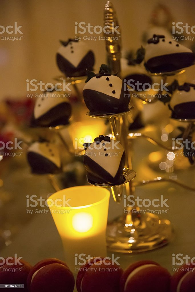 Tiered Dessert Stand royalty-free stock photo