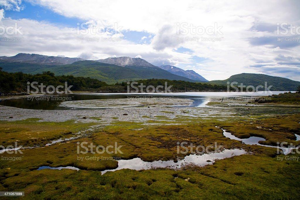 Tierra Del Fuego Argentina royalty-free stock photo
