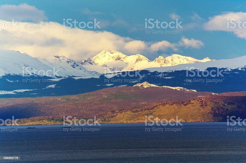 Tierra del Fuego stock photo